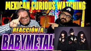BABYMETAL-RONDO OF NIGHTMARE-MEXICANOS REACCIONAN