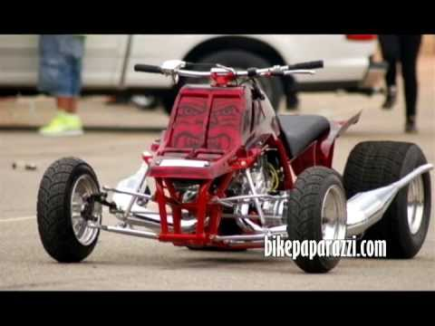 ATV Banshee Grudge Run @ A SHITTY TRACK with R&R Performance (Petey) vs TMR Tim Mills Racing the 1st ever from Macon National Dragway..Street Racing ...