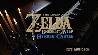 Zelda Breath of the Wild - Hyrule Castle Cover