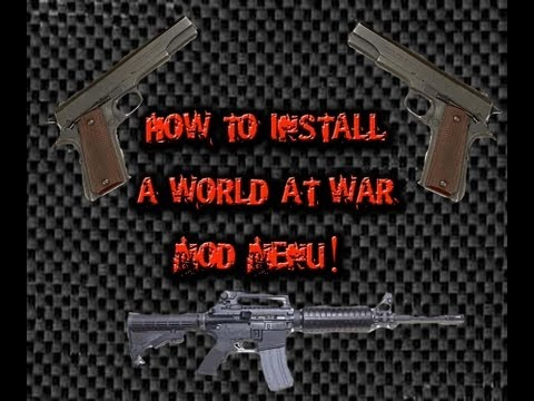 How To Install Call Of Duty:World At War Mod Menu For PS3 - NO JAILBREAK!