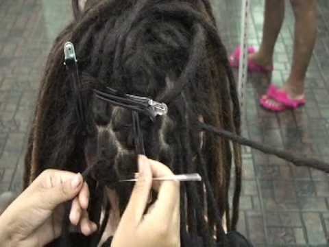 Crochet Hook Dreadlock Sew Braid Track Wig Hair Needle | eBay