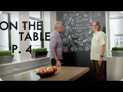 Wylie Dufresne on Cooking for TV | Ep. 11 Part 4/4 On The Table | Reserve Channel