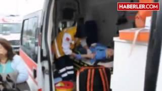 Turgutlu Kırmızı Işıkta Duran Otomobile Tır Çarptı  3 Yaralı
