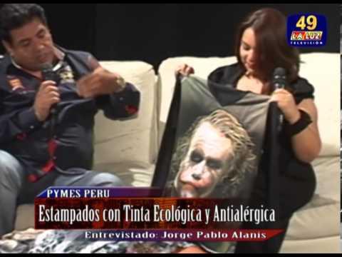 GAMARRA: HOY 10 MIL NUEVOS MODELOS PARA ESTAMPADOS TEXTILES  ECOLOGICOS