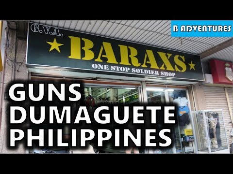 Travel Philippines, S2, Ep5, Dumaguete Negros Oriental, Local Gun Stores, Shooting Sports & Firearms