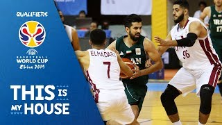 Qatar v Iran - Full Game - 3rd Window - FIBA Basketball World Cup 2019 - Asian Qualifiers