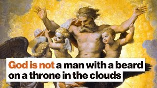 God is not a man with a beard on a throne in the clouds | Pete Holmes