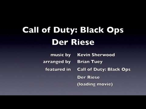Call of Duty: Black Ops - Der Riese loading screen nazi zombies Kevin Sherwood