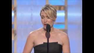 Kate Winslet really LOVES Leonardo DiCaprio (Golden Globes Awards 2009)