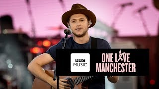 download lagu Niall Horan - Slow Hands One Love Manchester gratis
