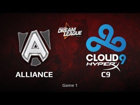 Alliance vs C9, DreamLeague Grand Finals, Game 1