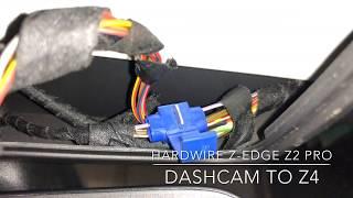 Hardwire Z-Edge Z2 Pro Mirror Dashcam into BMW Z4