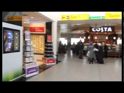 Dreamstore winner fragrances & cosmetics 2012; World Duty Free; London Heathrow Airport