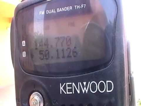 Kenwood th-f7,portable,apertura 50mhz, radioaficin, Ham radio