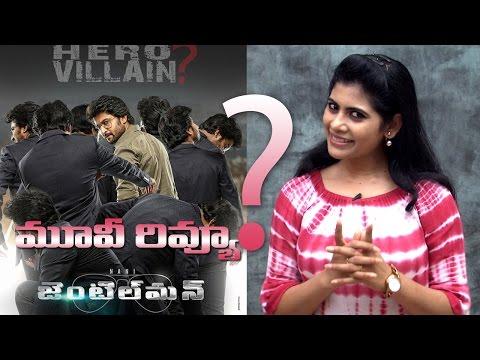 Gentleman Movie Review   Tollywood Movie Reviews   Public Talk   Nani   Surabhi   Niveda Thomas