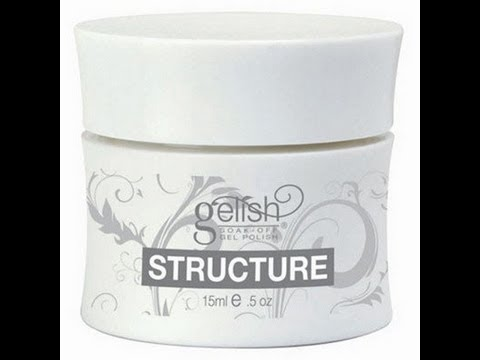 Repair a broken nail with Gelish Structure Gel