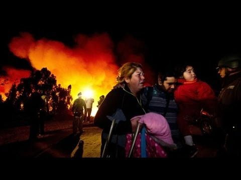 Chile Fire Kills at Least 12 People