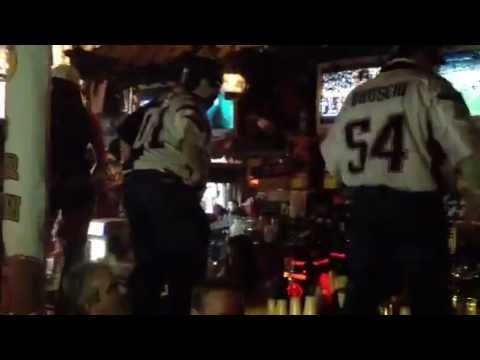 Number one pats fans at wild beaver saloon indy