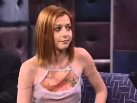 Alyson Hannigan on Conan 2001