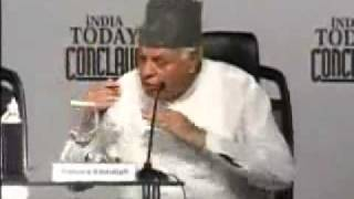 Narendra Modi, Farooq Abdullah speech at India Today Conclave 2008