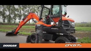 Discover the DX57W-5 | Doosan Equipment Europe