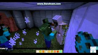 Minecraft Ring 1 : zombi vs Demir Adam