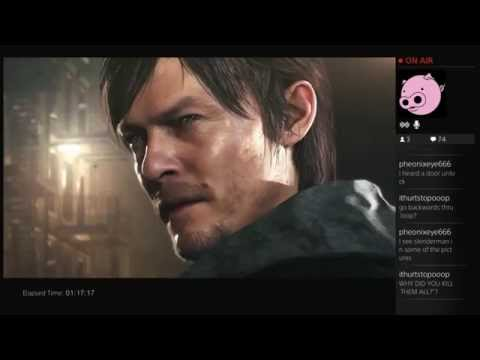 Gamescom Announced! New Silent Hill PS4 - Hideo Kojima, Guillermo del Toro