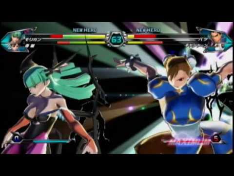 Wii『TATSUNOKO VS.CAPCOM ULTIMATE ALL-STARS』ジャンプフェスタ10プロモーション映像
