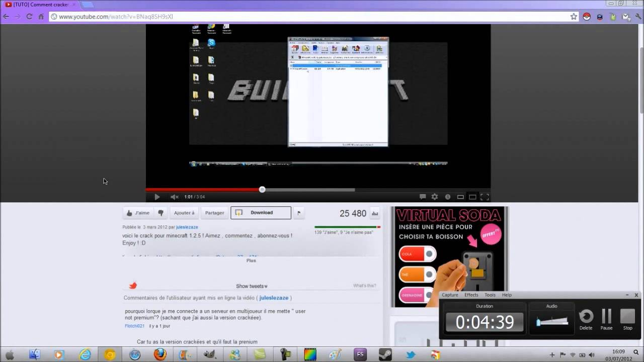 Telecharger des videos via youtube gratuit hd youtube - Telecharger daemon tools lite gratuit windows 8 ...