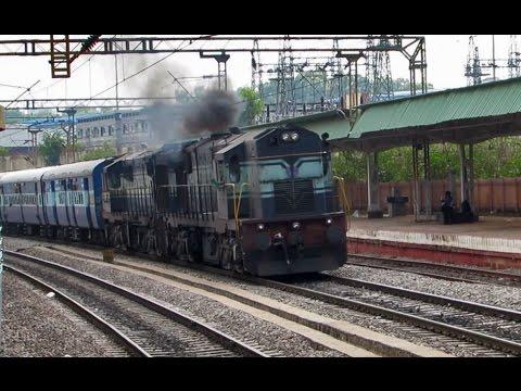 Twin ALCO powered BANGALORE Superfast Express - Kacheguda Bengaluru
