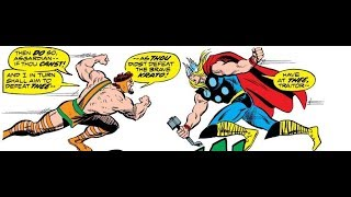 Thor vs Hercules and Krato