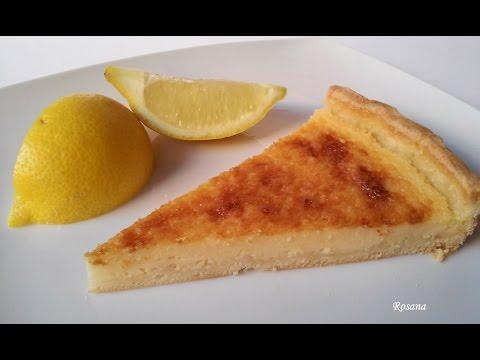Tarta de lim�n f�cil con base de hojaldre