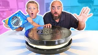 GIANT GUMMY OREO COOKIE CHALLENGE How To DIY!!