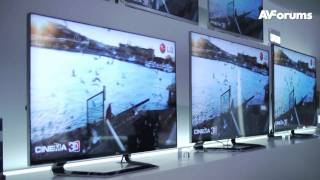 CES 2012 - LG Line-up for 2012. 4k TV, 55 inch OLED and New LED Nano TVs