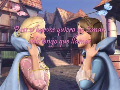 Barbie en la Princesa y la Costurera - Soy como tú (Letra)