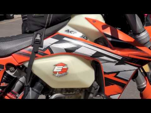 Ktm 500 Crash Update: It Lives Again, Warp 9 Vindicated video