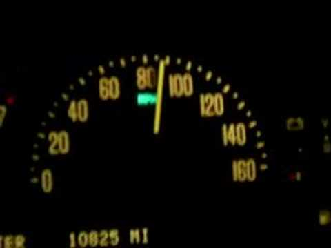 2006 Cadillac XLR-V 40-110mph !! Video