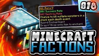 89% KILL AURA BOOK! | Minecraft COSMIC Factions! #18 ( Cosmic PvP Pleb Planet )