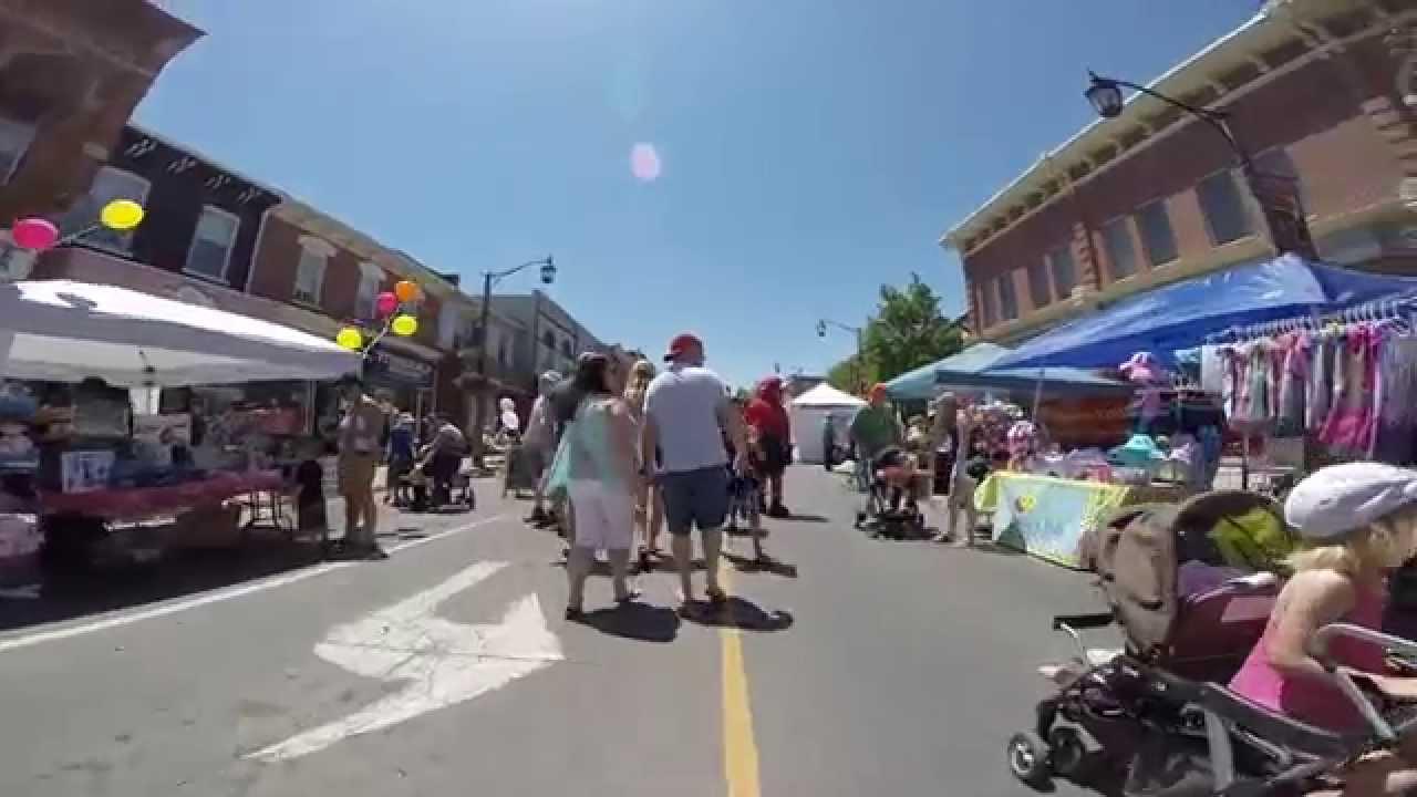 Milton Ontario Downtown Festival Milton Ontario