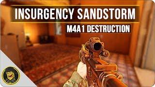 M4 DESTRUCTION - Insurgency Sandstorm (Sandstorm PVP Gameplay)