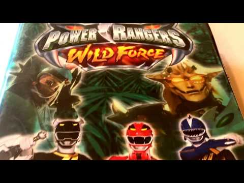Power Rangers * Wild Force * Animated Cartoon * VHS Movie Collection