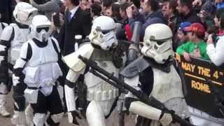 Star Wars Day Jedi & Darth Vader 501st Legion : Film Cosplay