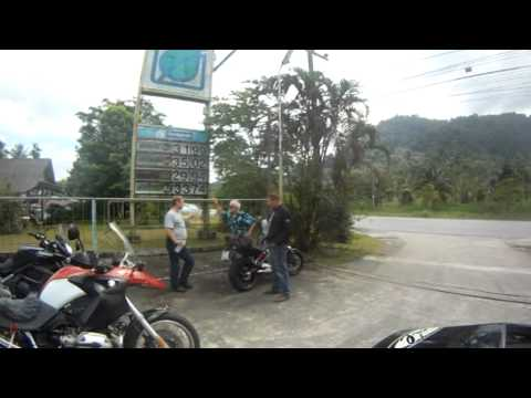 Phuket Thailand Khao Sok national park big motorcycle tour