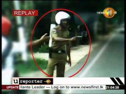 Newsfirst questions Raised Over Police Shooting Of Teenager In Divulapitiya video