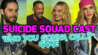 SUICIDE SQUAD: Cast play