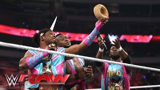 The New Day relishes in their WrestleMania experience: Raw, April 4, 2016