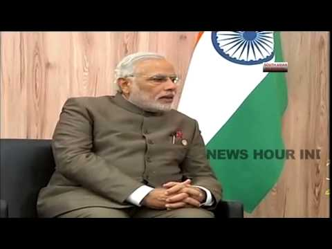 India PM Narendra Modi talks in Hindi with Russia president - Exclusive