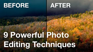9 Powerful Photo Editing Techniques For Turning Average Photos Into Stunning Magazine Quality Images