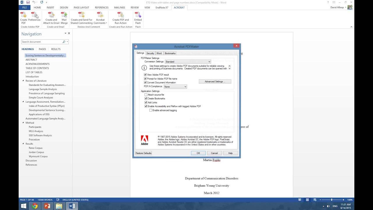 Uf dissertation template