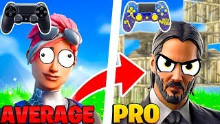 How To Go From AVERAGE To PRO On Console Fortnite! - Fortnite Tips PS4 + Xbox